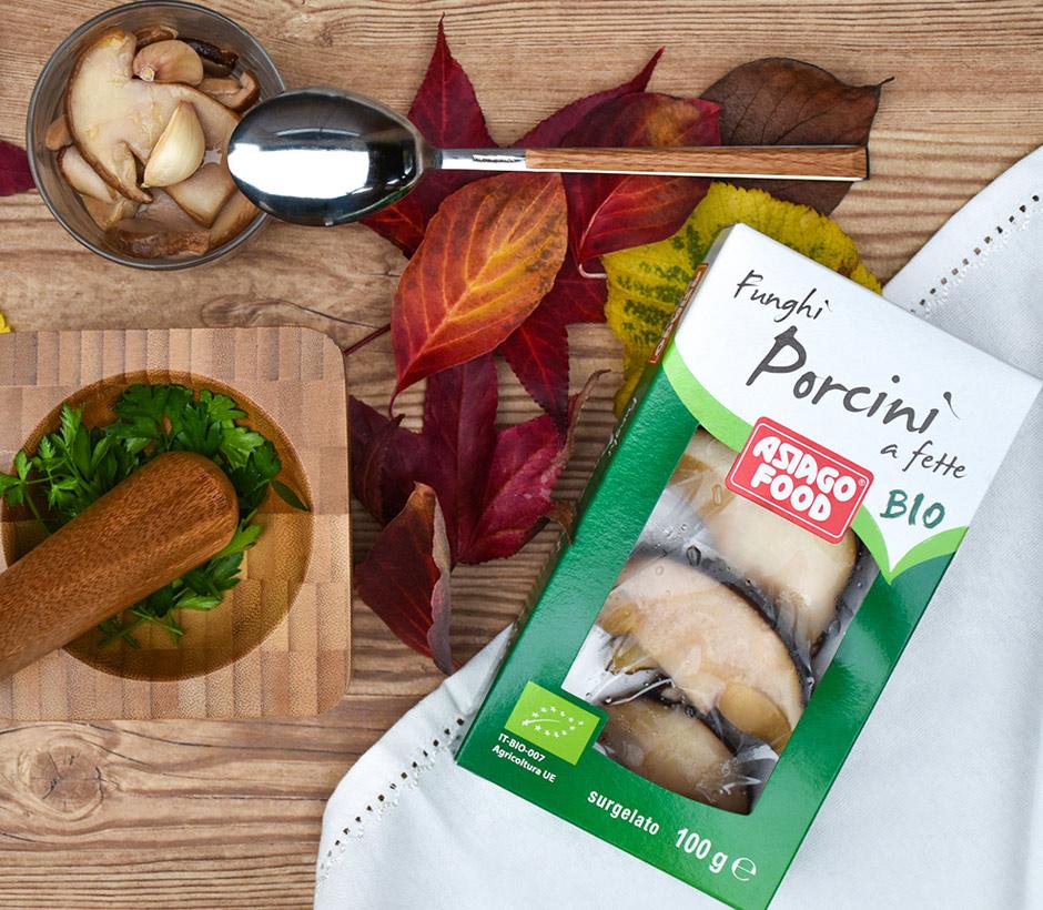 Funghi porcini bio surgelati Asiago Food