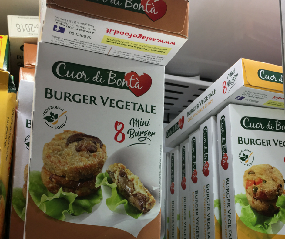 Concorso esselunga e i nostri Mini Burger vegani esposti