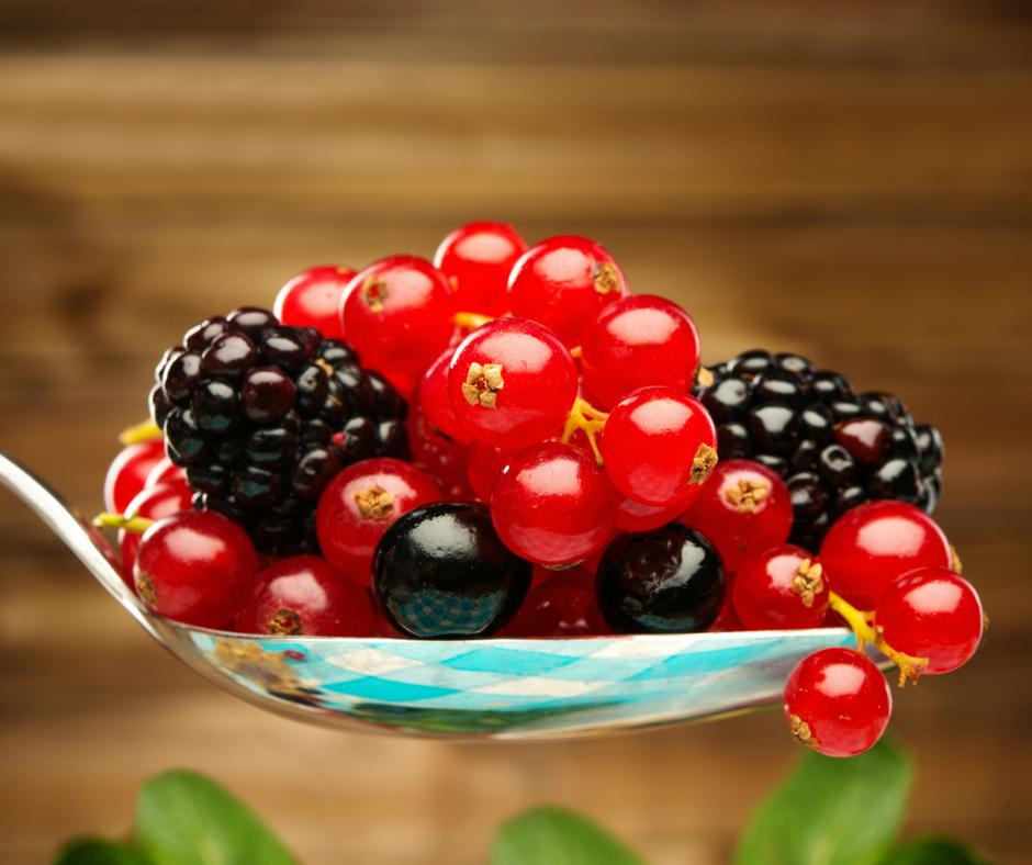 I frutti di bosco, mangia ciò che vuoi essere