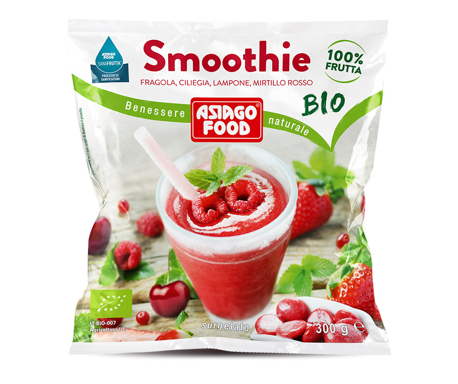 Smoothie Asiago Food ai frutti rossi