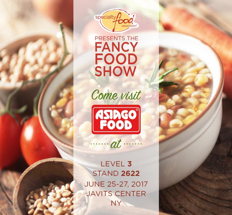 Specialità alimentari italiane al Summer Fancy Food a New York con Asiago Food.
