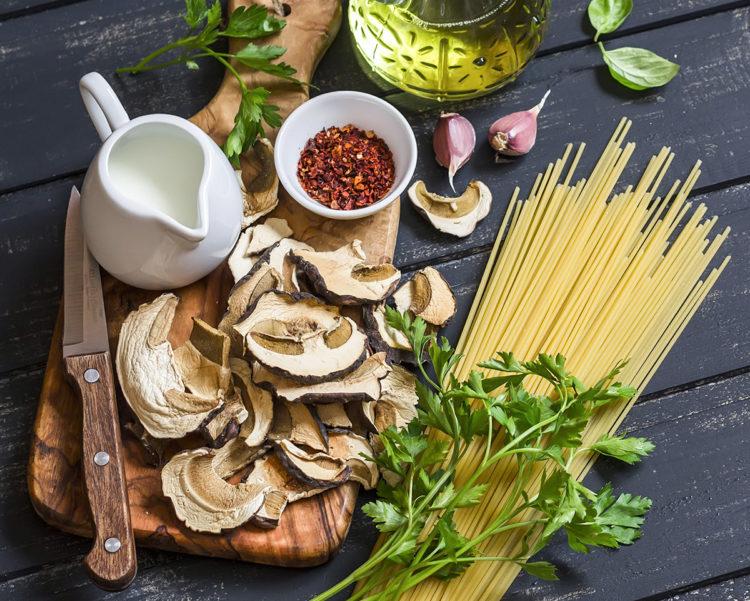 Passione funghi, 3 primi piatti con porcini secchi